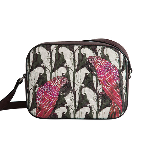 Navi Bag in Camo Parrot