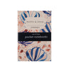 Fonfique notebook set of 3 zambak mavi yengeç cradle lily blue crabs blue seashell  blue hediye gift