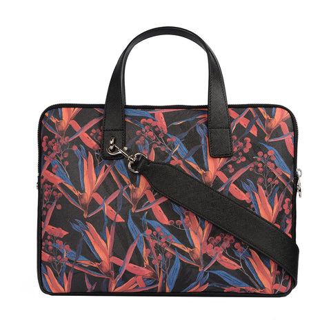 Petra 13'' Laptop Bag in Cradle Lily Black