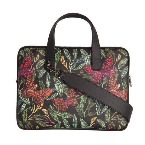 Petra 13'' Laptop Bag in Botanical