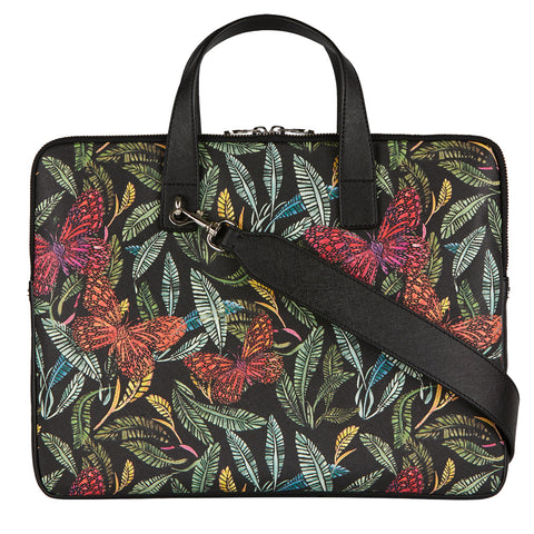 Petra 15'' Laptop Bag in Botanical