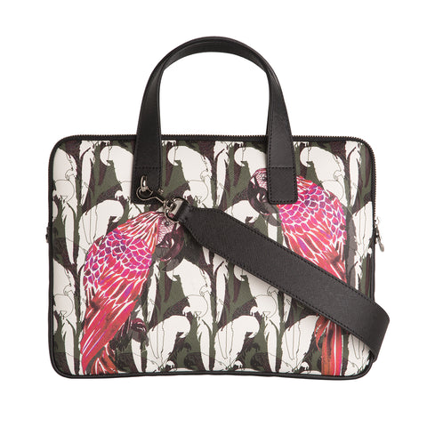 "Petra 13"" Laptop Bag in Camo Parrot"