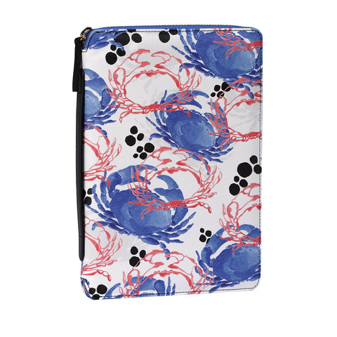 Risha Organizer in Crabs Blue