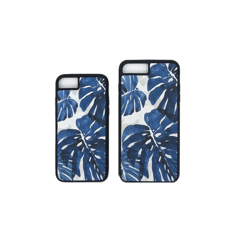 Monstera Blue Phone Cover