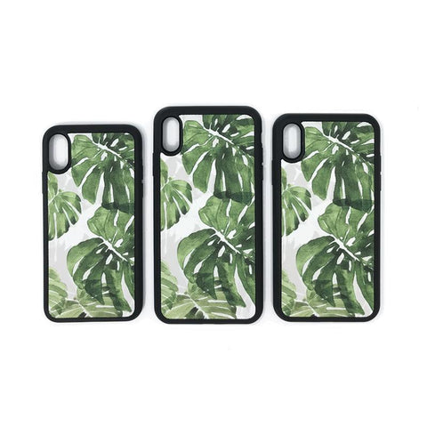 Monstera Green Phone Cover