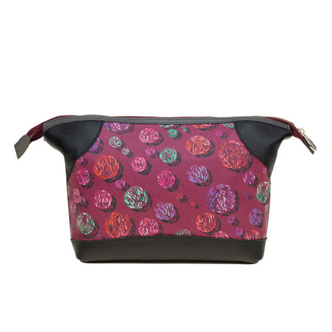 Auriga Washbag in Sparkle Burgundy
