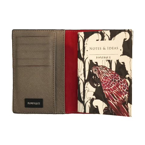 Gemma Passport Holder in Camo Parrot