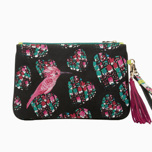 Dalida Clutch in Hearts - Fonfique