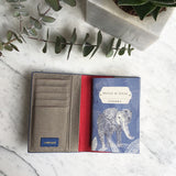 Gemma Passport Holder in Elephants