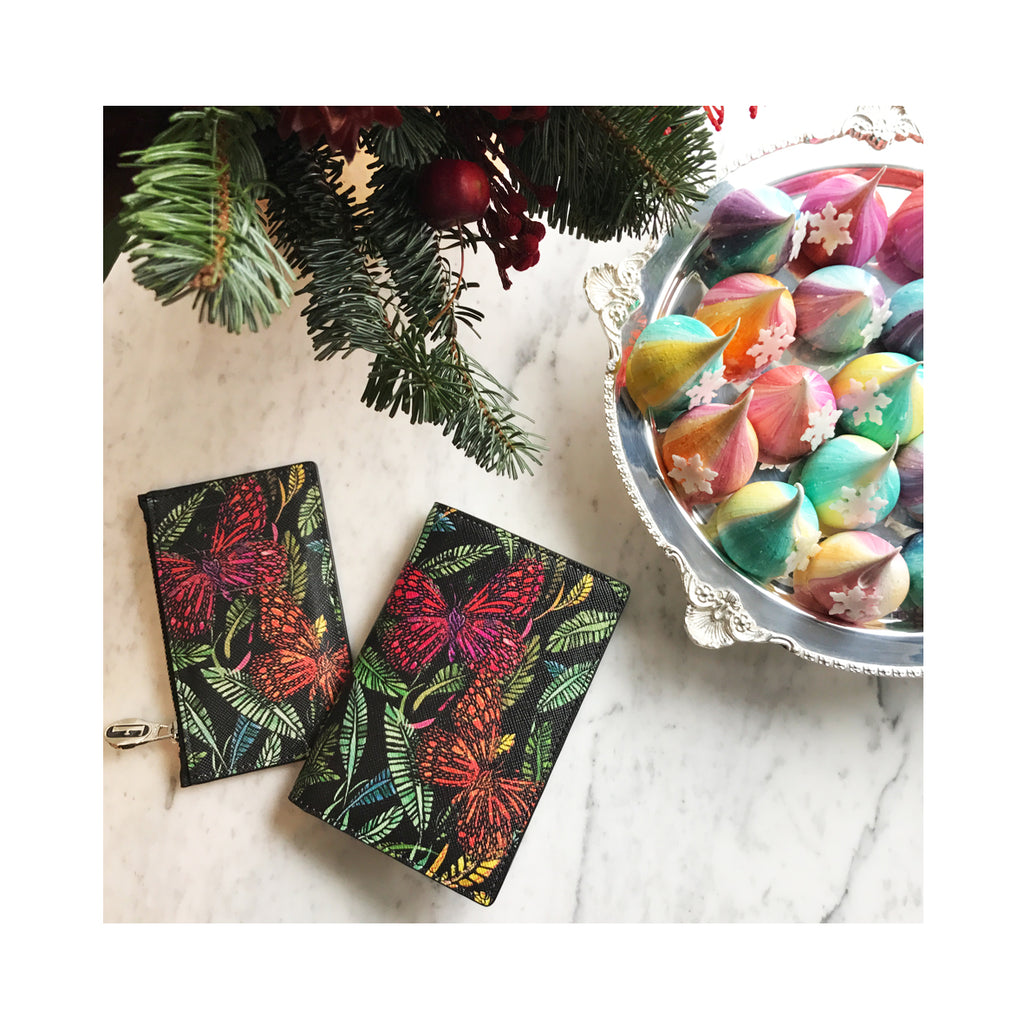 Mira Cardholder in Botanical
