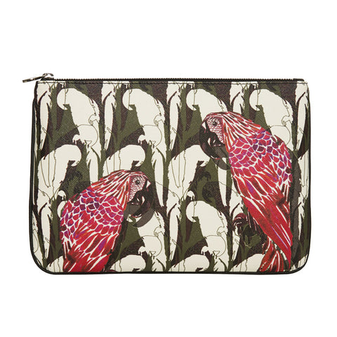 MERI CLUTCH IN CAMO PARROT - Fonfique