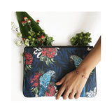 Meri Clutch in Parrot