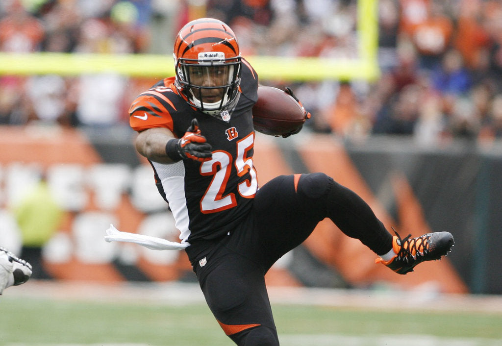 Giovani Bernard inspired by playoff fumble against Chargers | Giovani Bernard