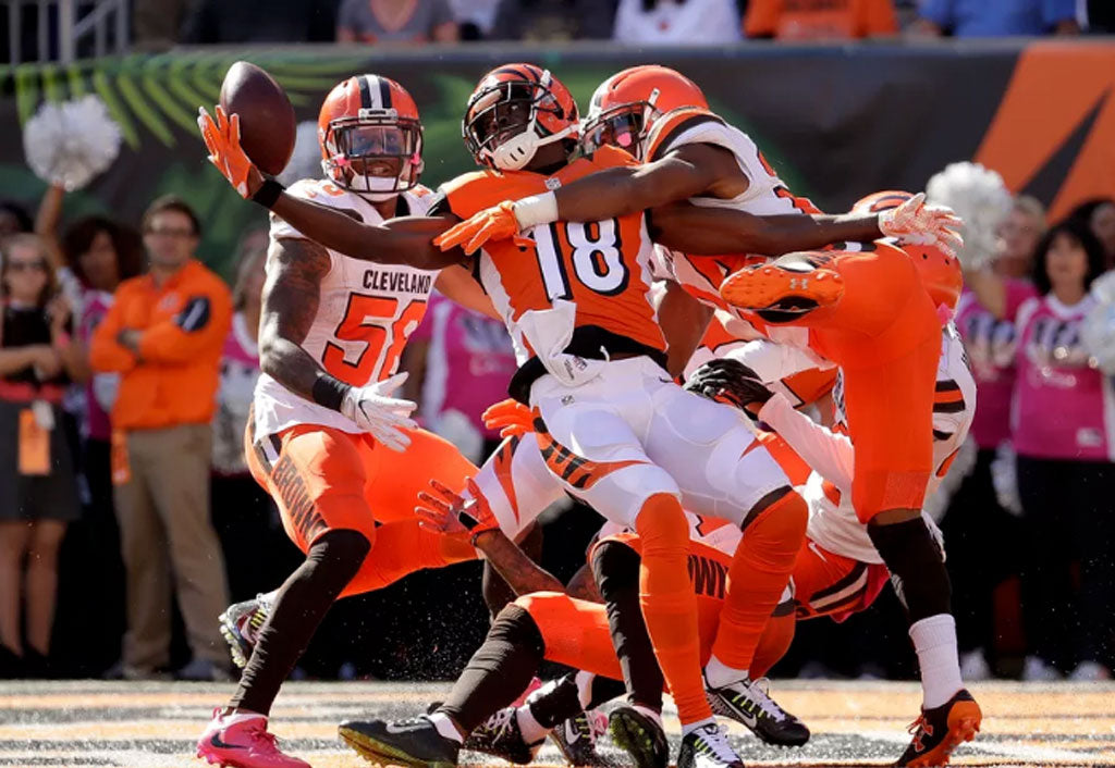 A.J. Green, Jeremy Hill dominate in Bengals' 31-17 victory over Browns