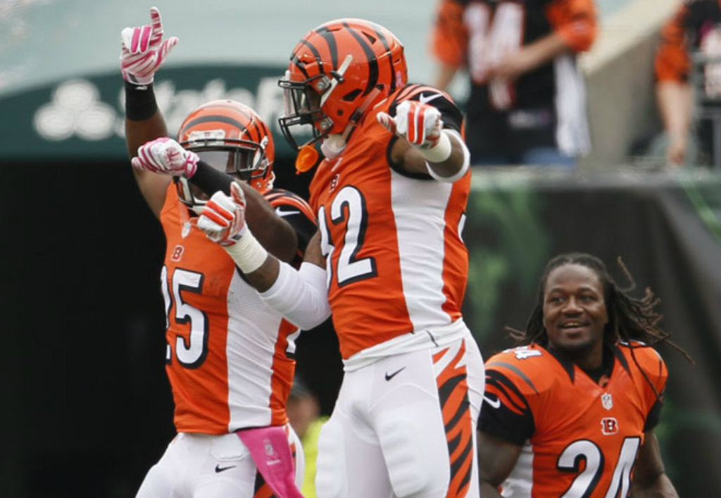 Gio Bernard leads double-headed running attack to bring Bengals to 4-0 | Giovani Bernard
