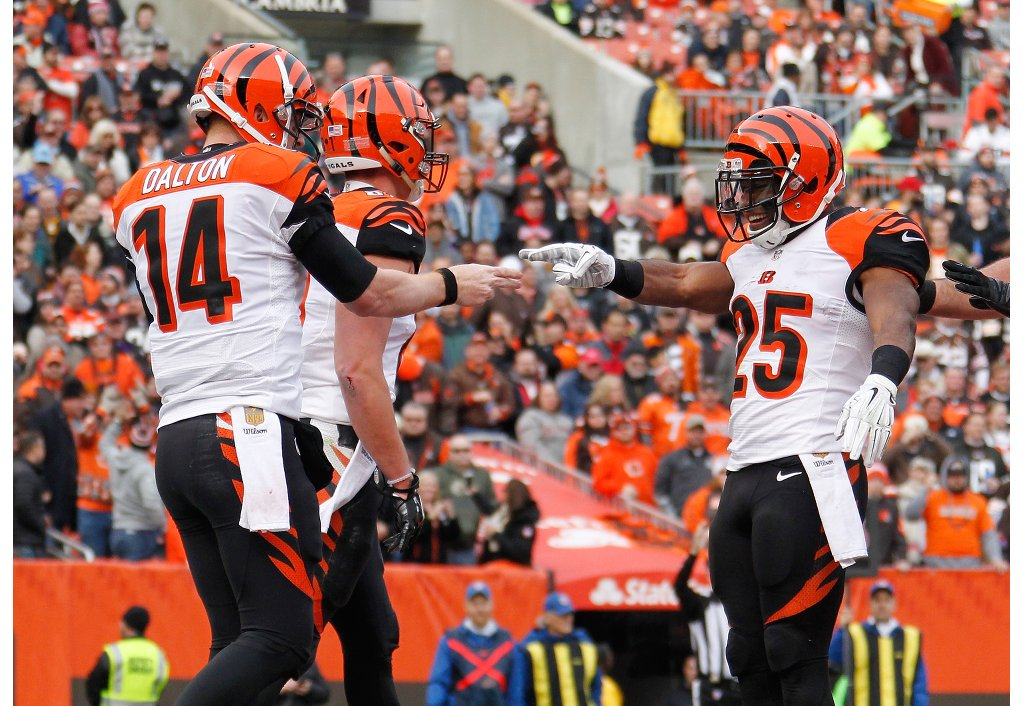 Bengals beat Browns again; many players shine | Giovani Bernard