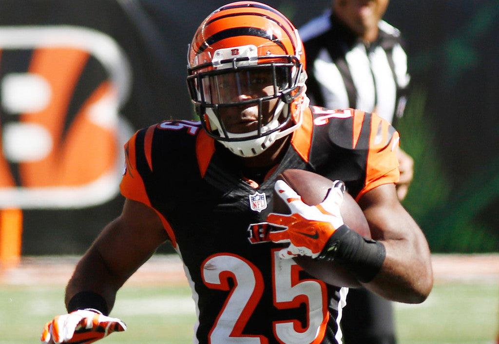 Giovani Bernard is the number two back, but a big part of Bengals' offense