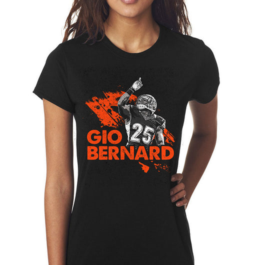 Giovani Bernard Official Store | GB25 Standard Women's T-Shirt
