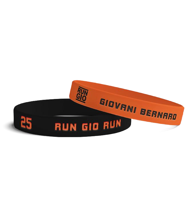 Cincy Football Wristbands (2-Pack)
