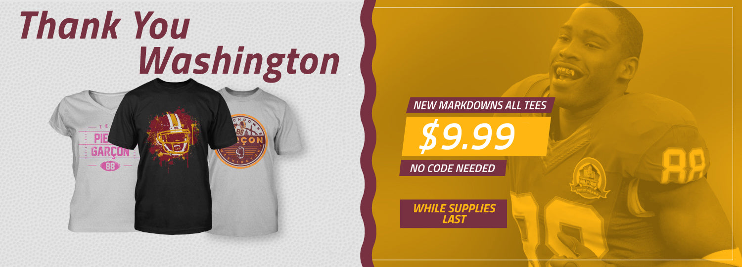 Pierre Garcon Washington Redskins apparel