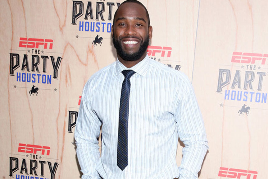 NFL Star Pierre Garcon Talks Giving Back to Haiti and His Favorite Rap Albums | Pierre Garcon