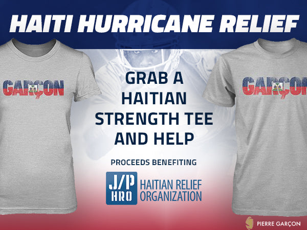 San Francisco 49ers Wide Receiver, Pierre Garcon, To Donate 100% Of Proceeds From Sale Of The Haitian Strength T-Shirts