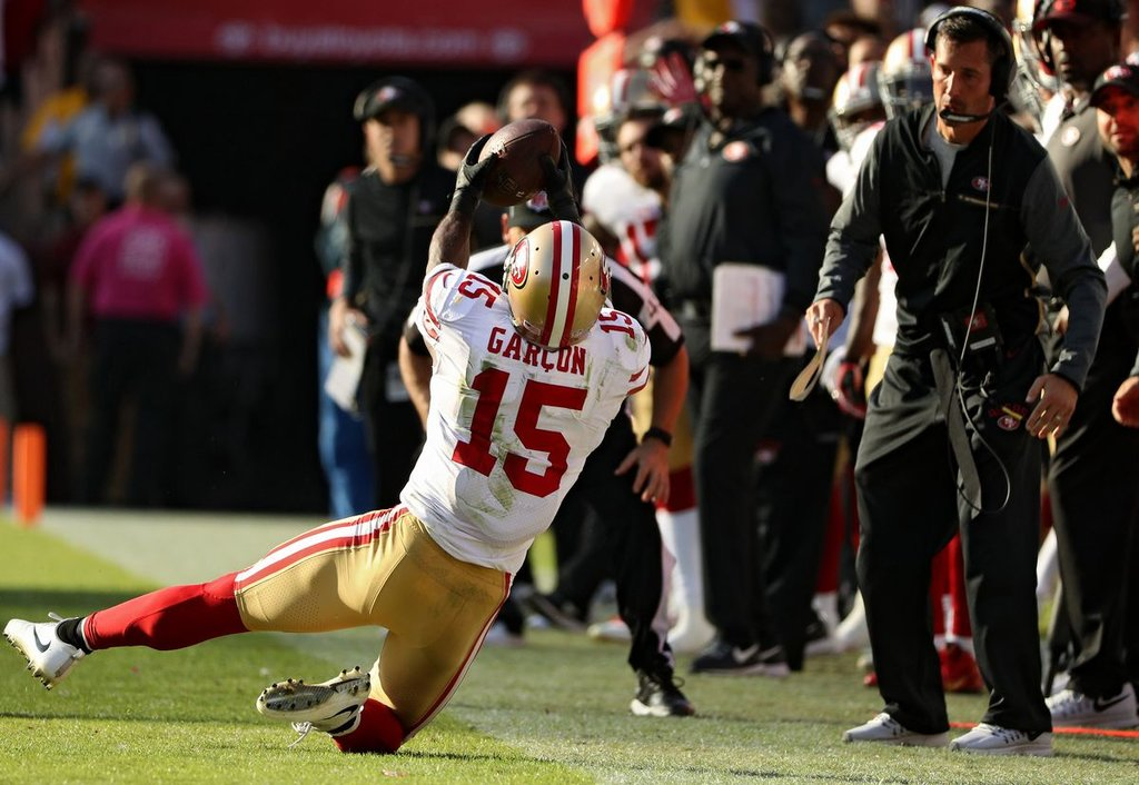Bleacher Report ranks 49ers' Pierre Garçon as NFL's ninth-best outside receiver | Pierre Garcon