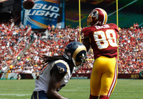 Redskins WR Pierre Garcon Catches Team-High Six Passes in Win