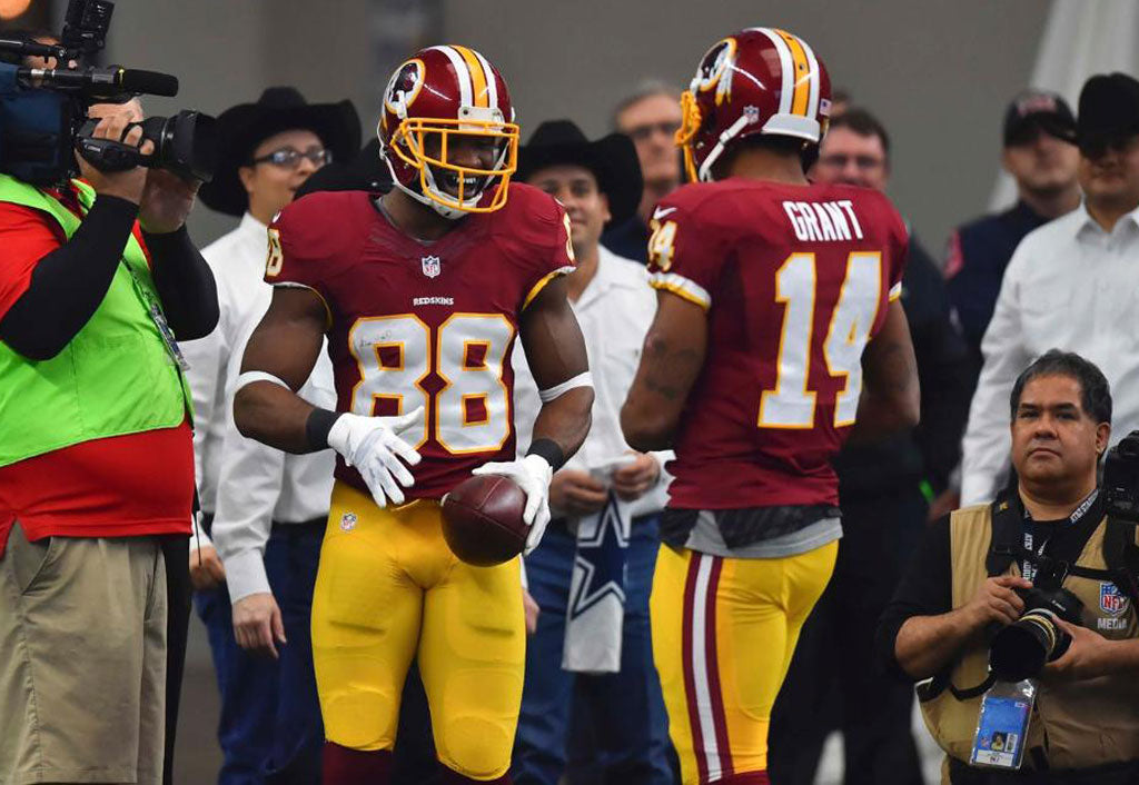 Pierre Garcon makes ridiculous catch for TD (Video) | Pierre Garcon