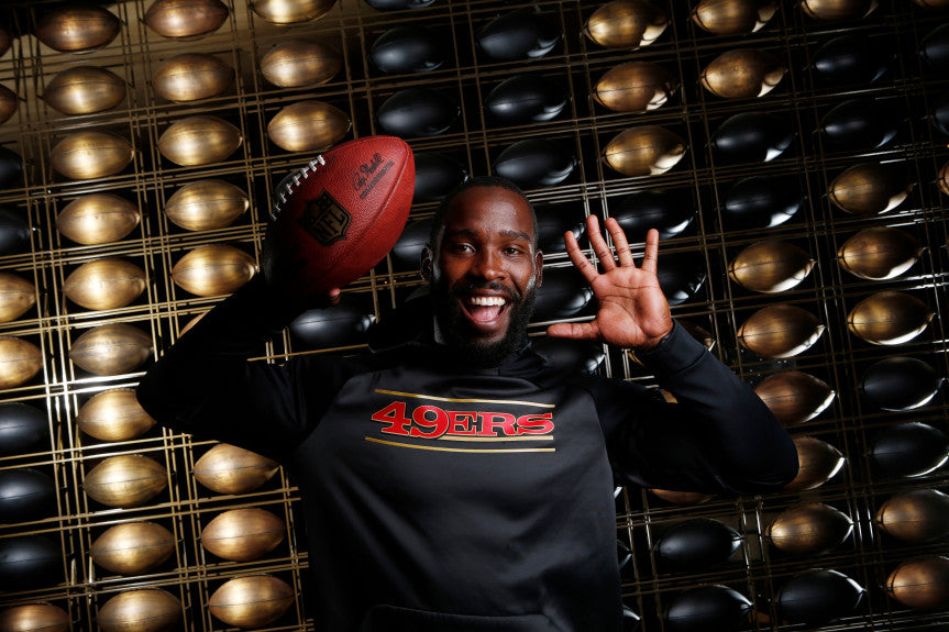 49ers Q&A: Seafaring Pierre Garcon looks to steady once-rough waters