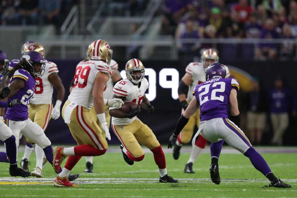 12 Takeaways: Vikings 32 - 49ers 31 | Pierre Garcon