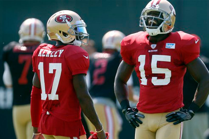 49ers' sputtering offense can take heart in 2011 team | Pierre Garcon