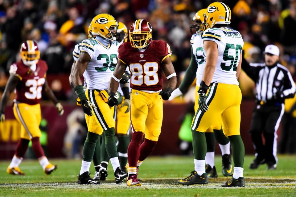 Pierre Garcon Lets Us Know What He Thinks of Green Bay | Pierre Garcon