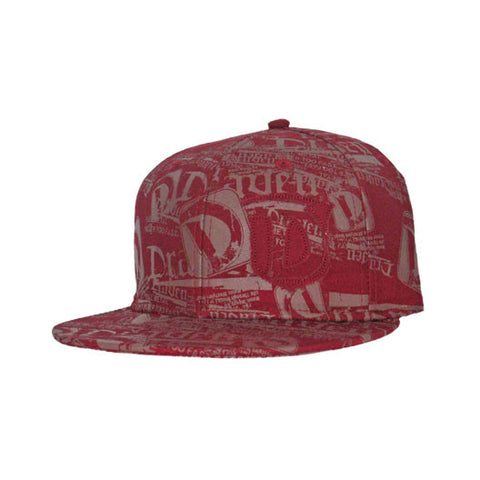Draven All Over Print Hat in Red