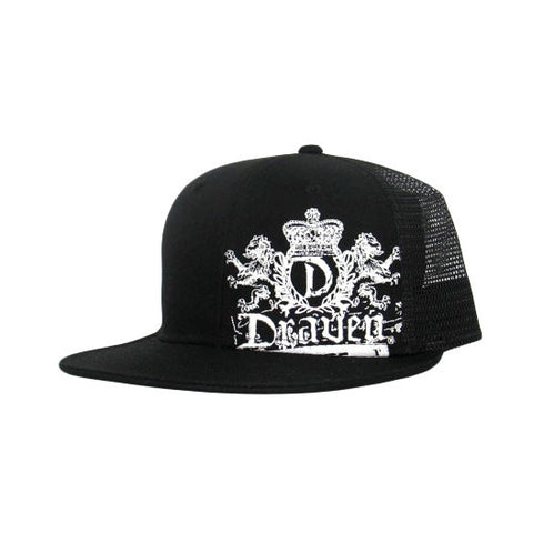 Lion Crest Black Draven Hat