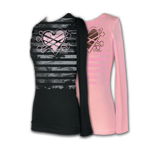 Draven Girls Heart It Thermal Long Sleeves