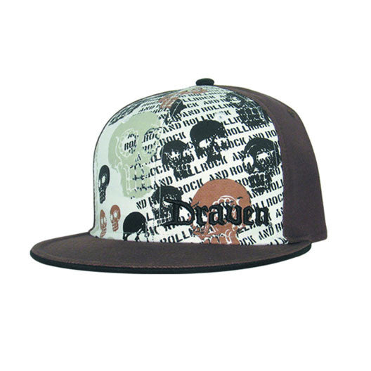 Muerto Hat-Black/White