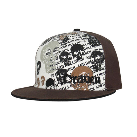 Muerto Hat-Brown/White