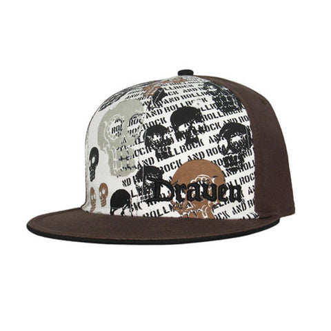 Draven Muerto Hat in brown