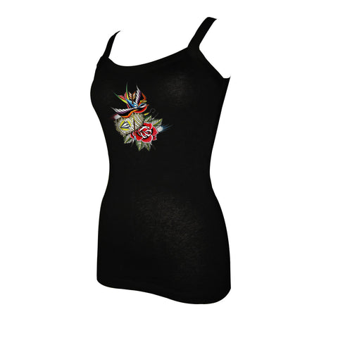 Draven Girls Bird Cage Tank