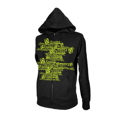 Draven Men's Multi Draven Zip Up Hoodie