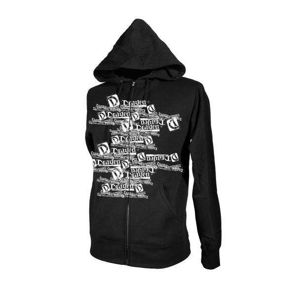 Multi Draven Hoody - Black/White