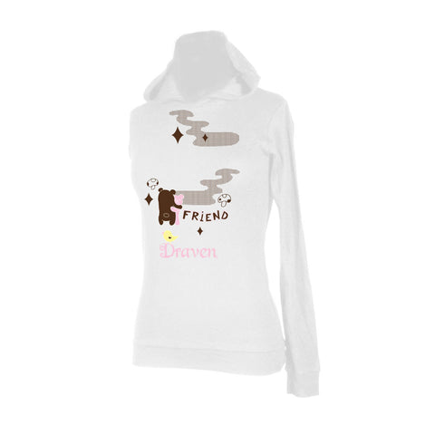 Draven Bear Friends Hooded Thermal