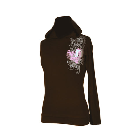 Draven Girls Entangled Hooded Thermal Long Sleeves