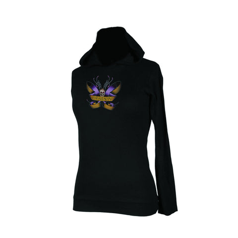 Draven Girls Ribbon Fly Hooded Thermal