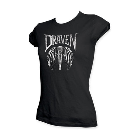 Draven Girls Winged Microphone T-Shirt