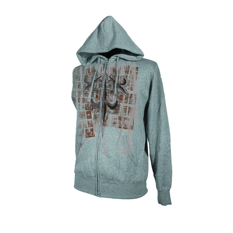 Draven Men's Rupture Zip Up Hoodie