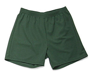 Athletic Knit 100% Poly Shorts