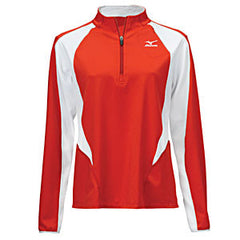 Mizuno Women's 9 Collection 1/2 Zip Warm Up