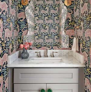 5 Beautiful Resons to Wallpaper your Bathroom